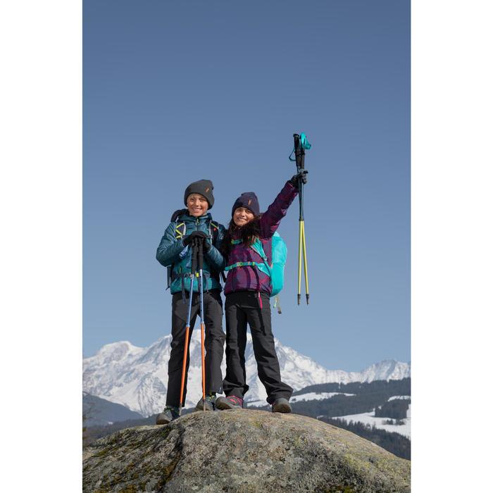Softshellhose Wandern MH550 Kinder 123-172cm grau