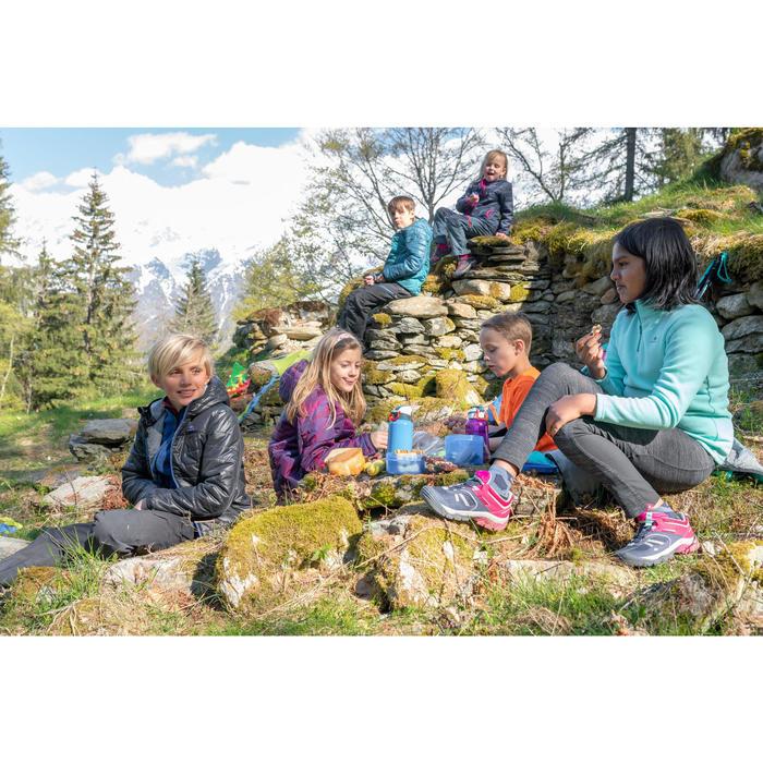 Wandelfleece voor kinderen MH100 turquoise 7-15 jaar