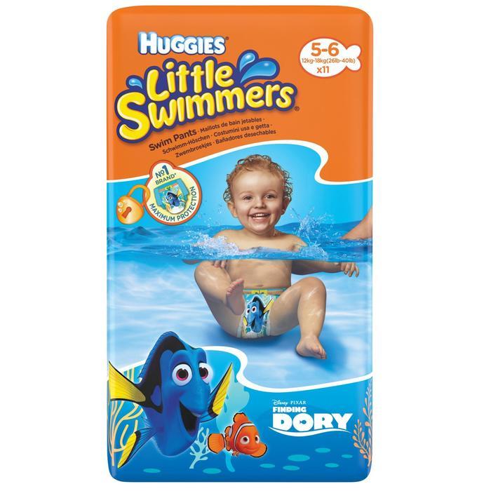 Zwempamper huggies 12-18kg
