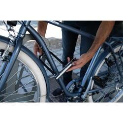 Beugelslot voor fiets 500 grijs