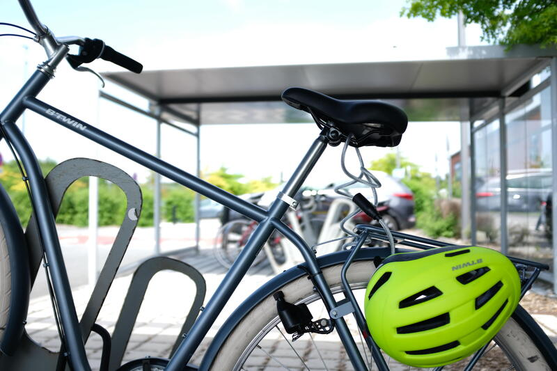 Cable Bike Lock 100 - Silver
