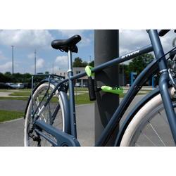 Fahrradschloss Kettenschloss 500 70 cm neongelb