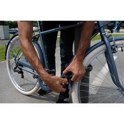 Fahrradschloss Kettenschloss 500 70 cm schwarz