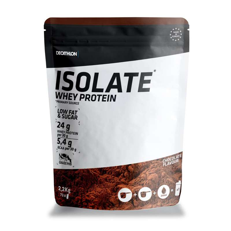 PROTEINS AND SUPPLEMENTS Boxing - Whey Isolate 2.2kg - Chocolate DOMYOS - Boxing Nutrition