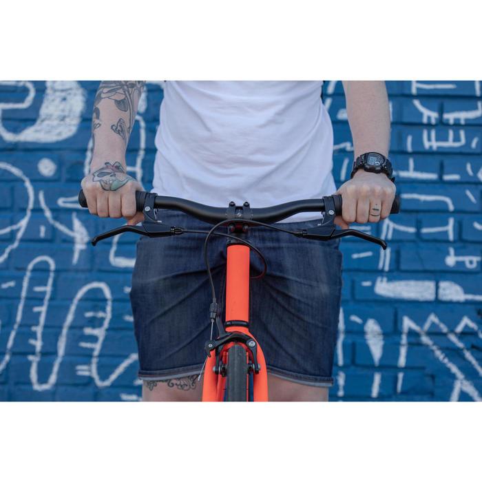 Single Speed fiets 500 oranje