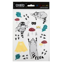 STICKERS OXELO RACCOON