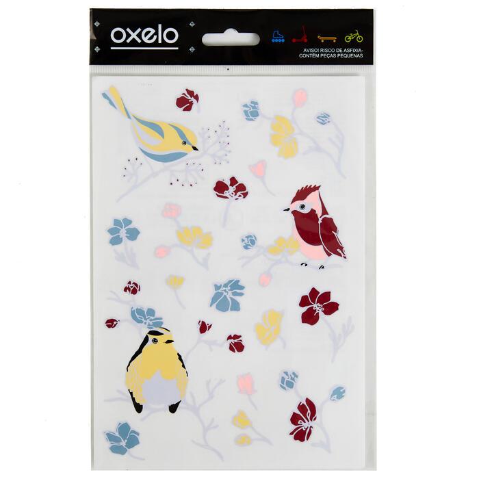 STICKERS OXELO BIRDS