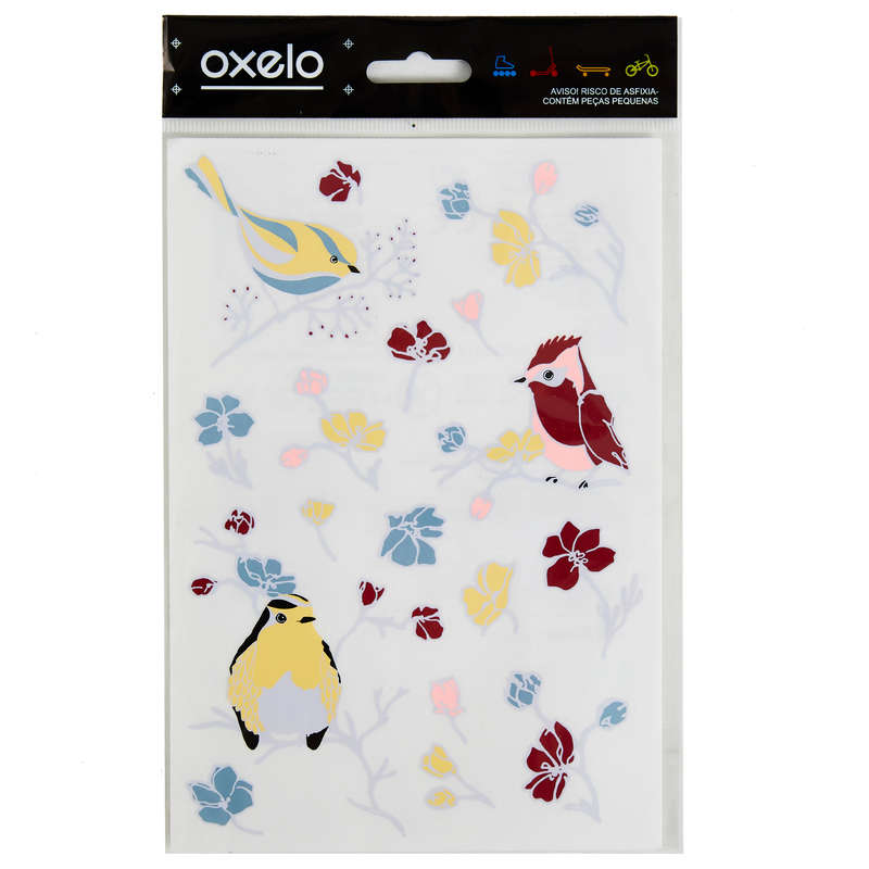 ACCESSORIES JUNIOR SCOOTERS Самокаты - СТИКЕРЫ OXELO BIRDS OXELO - Самокаты