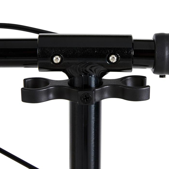 Scooter Roller MID 5 mit Federung und Lenkerbremse Vogelmotiv