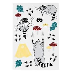 Sticker Waschbär