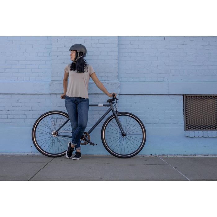 Single Speed fiets 500 blauw