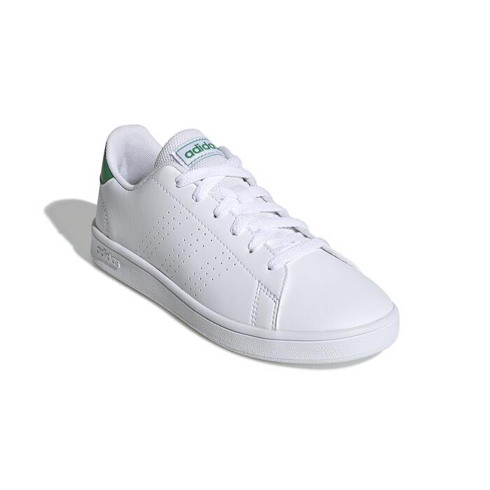 Tennisschoenen voor kinderen Advantage Clean wit groen