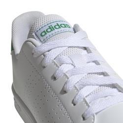 Tennisschoenen voor kinderen Adidas Advantage Clean wit/groen