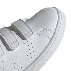 Tennisschoenen voor kinderen Advantage Clean wit/groen
