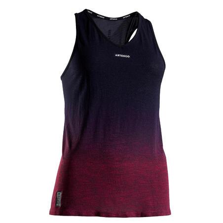 TK Light 990 Women's Tennis Tank Top - Black/Purple