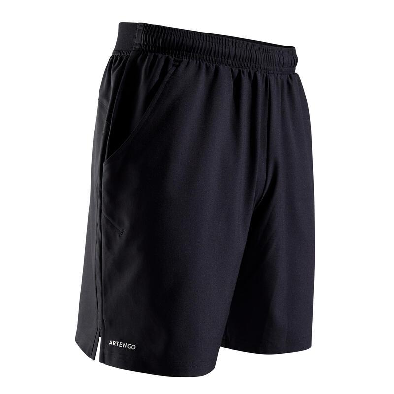 500 Dry Tennis Shorts - Hitam