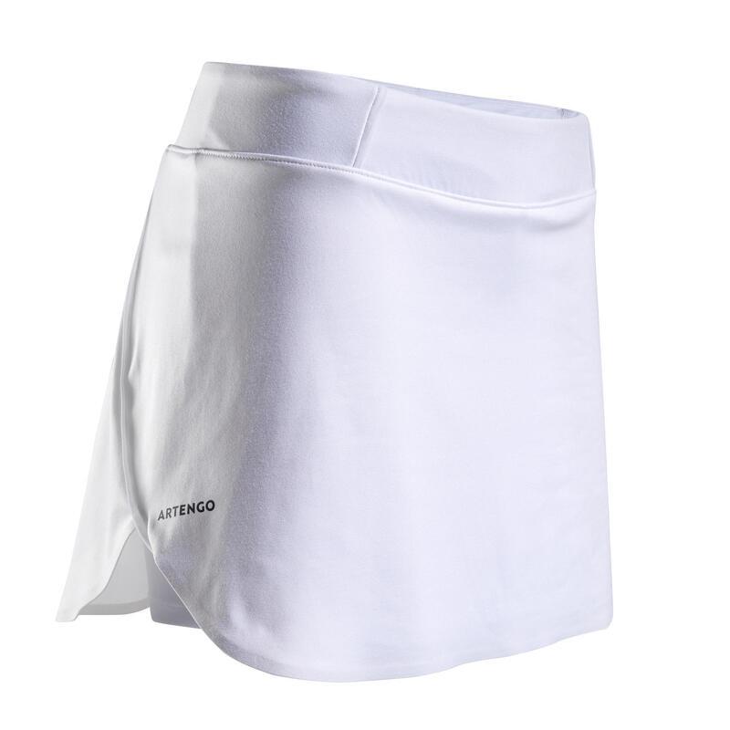 Women's Tennis Skirt SK Dry 900 - White