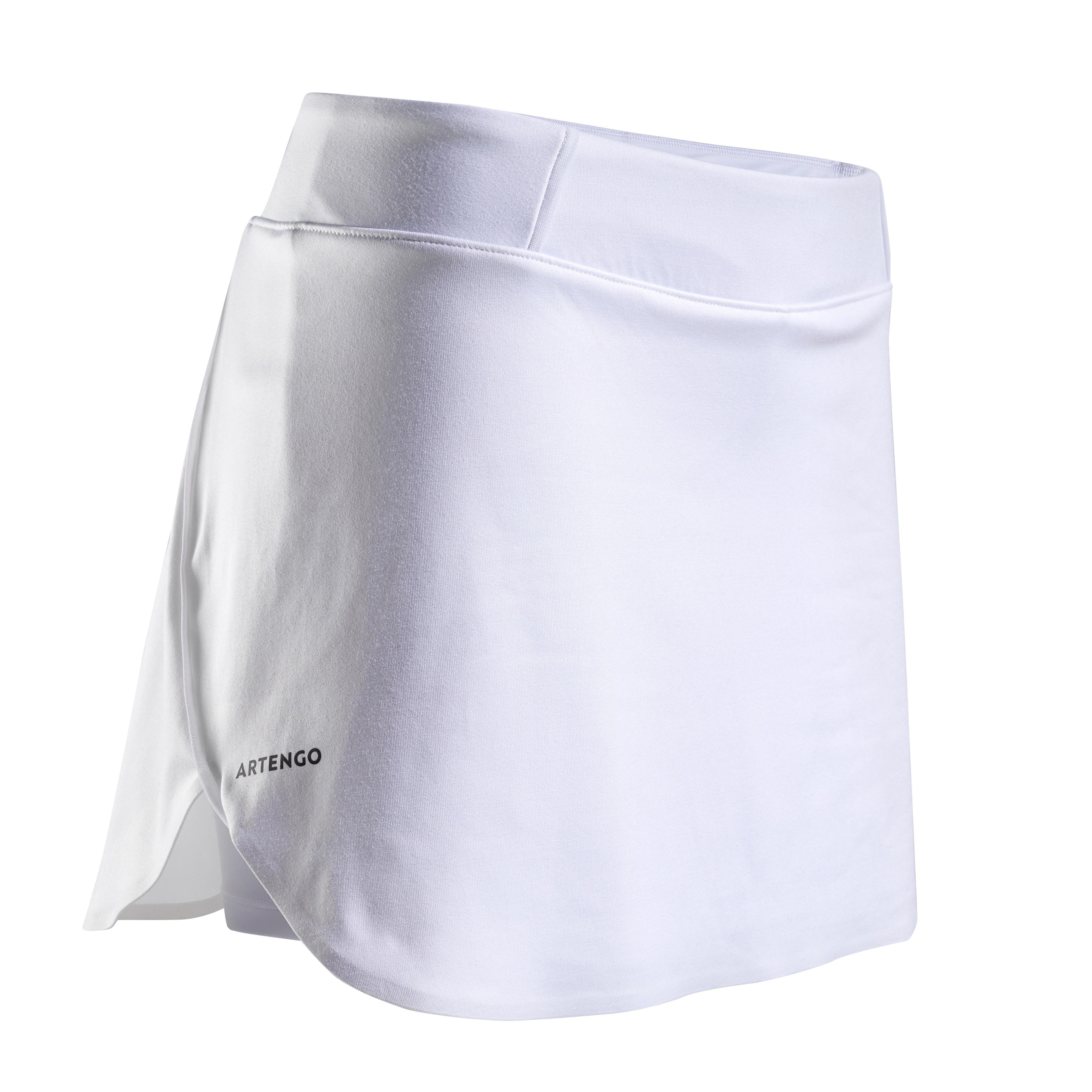 Tennisrock SK Light 990 Damen weiß | Sportbekleidung > Sportröcke | Weiß | Artengo