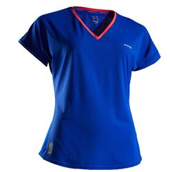 Soft 500 Women's Tennis T-Shirt - Blue