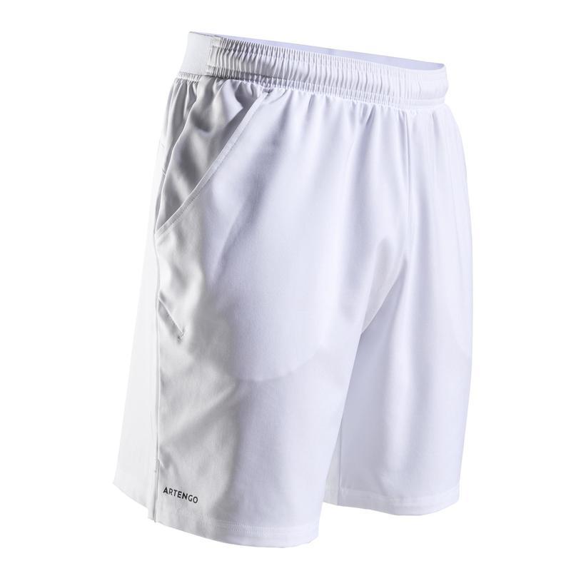 DRY TSH500 Tenis Şortu - Erkek - Beyaz