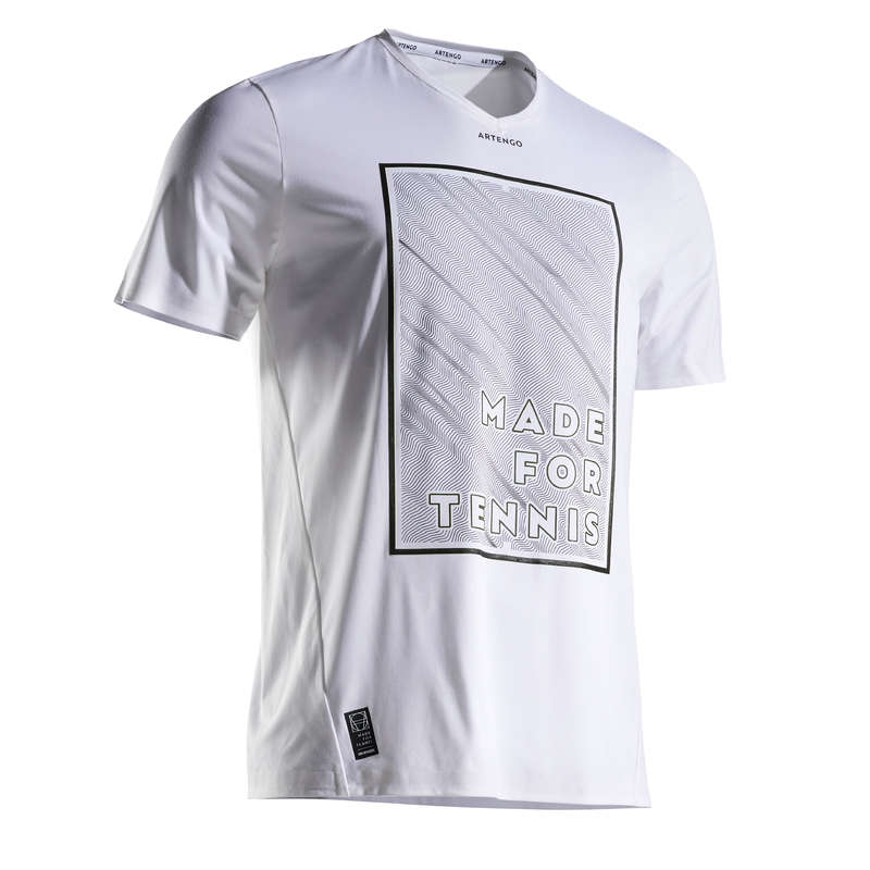 MEN WARM CONDITION RACKET SP APAREL Squash - 900 Light T-Shirt ARTENGO - Squash Clothing