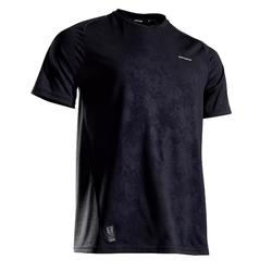 網球T恤Dry 500-黑色