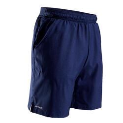 Tennis-Shorts Dry 500 Herren marineblau