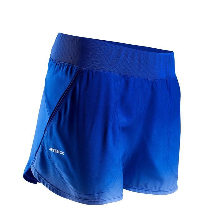 pantalon DE TENIS MUJER SH SOFT 500 AZUL