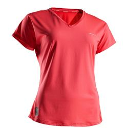 Tennis T-Shirt TS Soft 500 Damen rosa