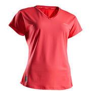 Women's Tennis T-Shirt Soft 500 - Pink