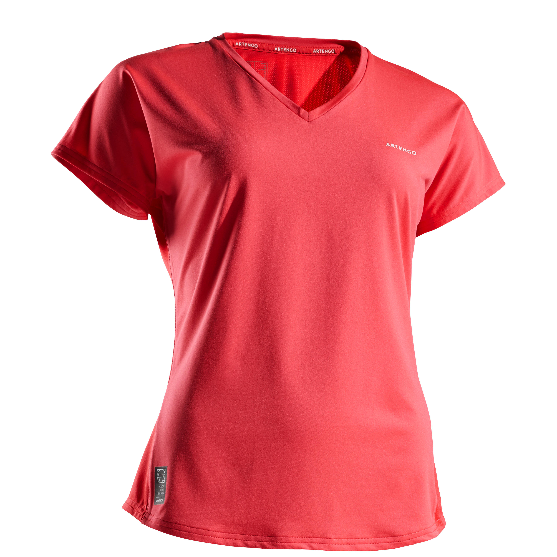 Tricou Tenis Soft 500 Damă