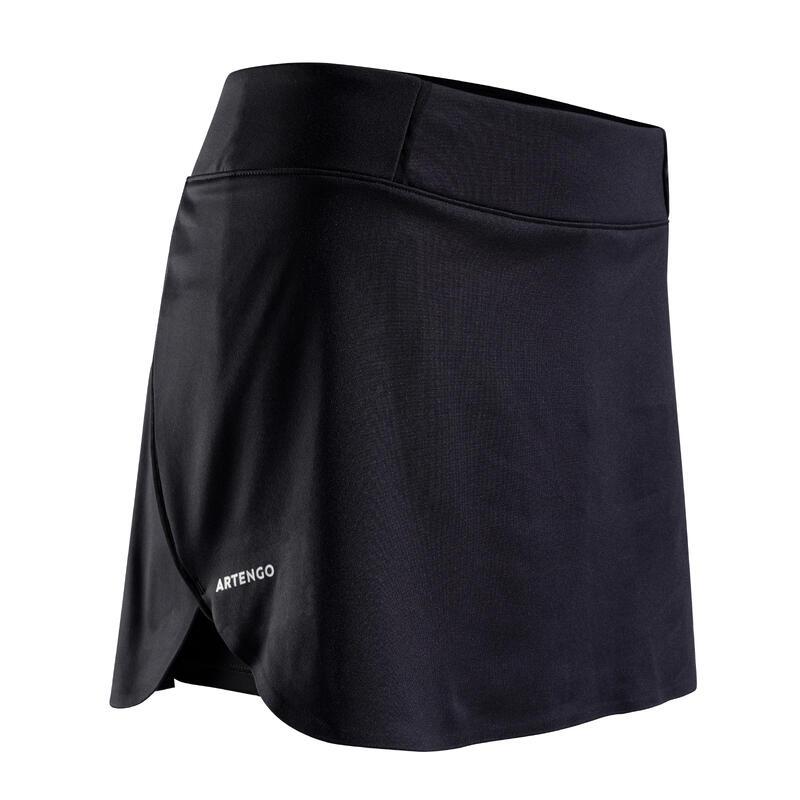 Falda de Tenis Artengo SK Light 990 Mujer Negro