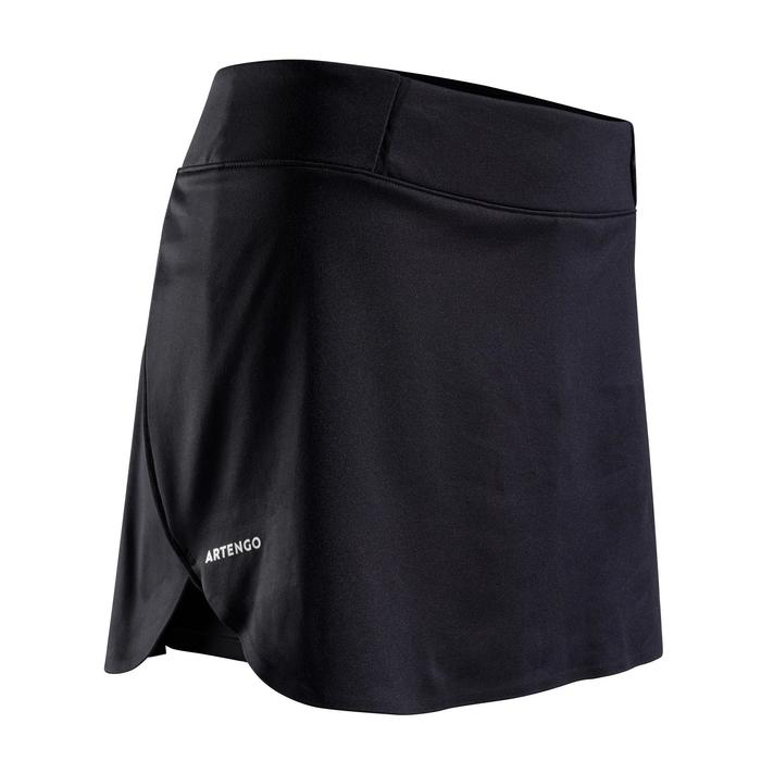 女款輕量網球短裙SK Light 990-黑色