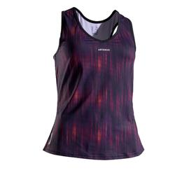 DEBARDEUR DE TENNIS FEMME TK LIGHT 900 VIOLET ORANGE
