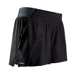 Tennisshort dames SH Light 900 grijs zwart