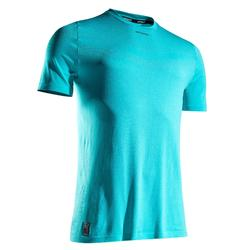 T-shirt tennis Light 990 heren turkoois