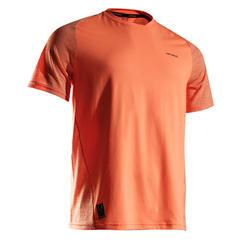 CAMISETA DE TENIS HOMBRE camiseta corta DRY 500 ROJO CORAL