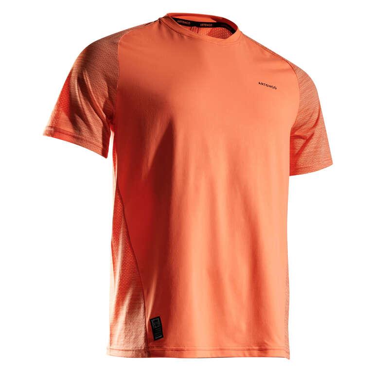 ABBIGLIAMENTO TUTTE LE STAGIONI UOMO Ping Pong - T-shirt uomo DRY 500 corallo ARTENGO - Ping Pong