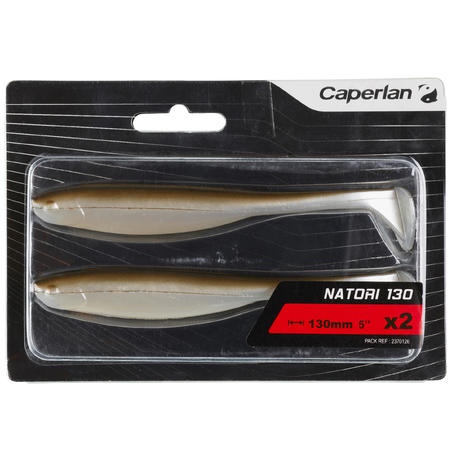 LURE FISHING SOFT LURE NATORI 130 NATURAL X2