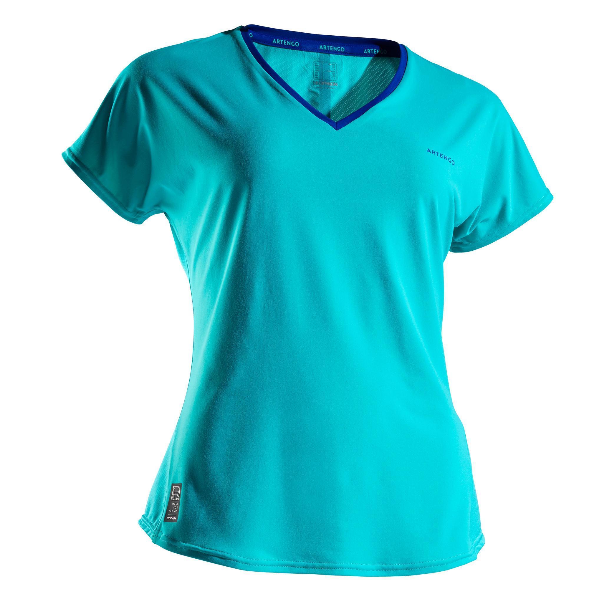 Tennis T-Shirt TS Soft 500 Damen | Sportbekleidung > Sportshirts > Tennisshirts | Artengo