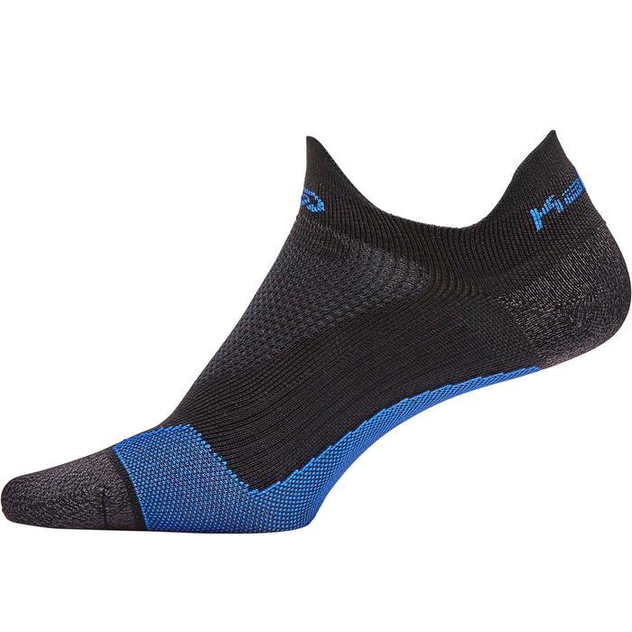 Dunne onzichtbare hardloopsokken Kiprun blauw