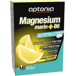 Suplemento alimentar MAGNESIUM+B6 Comprimidos Limão x30