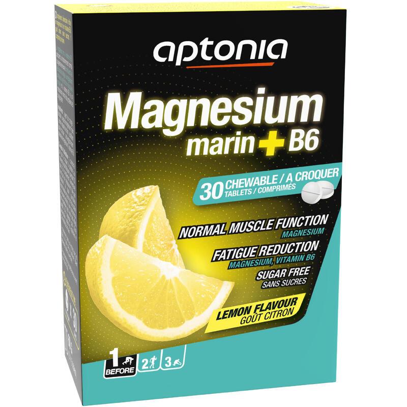 Voedingssupplement magnesium + B6 citroen 30 tabletten