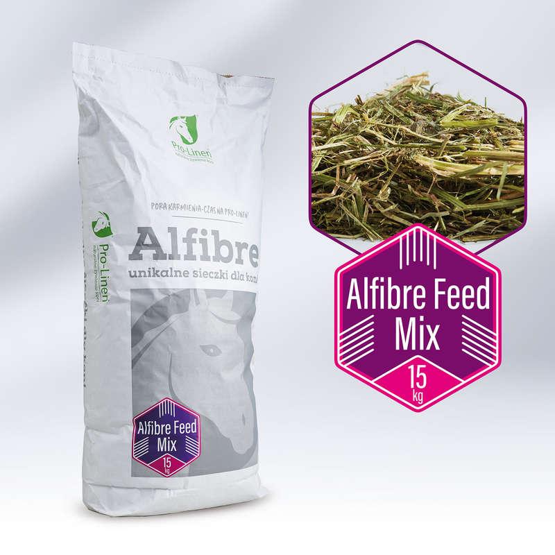 Suplementy diety Jeździectwo - Alfibre Feed Mix 15 kg PRO-LINEN - Dla konia