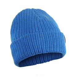兒童滑雪帽FISHERMAN藍色