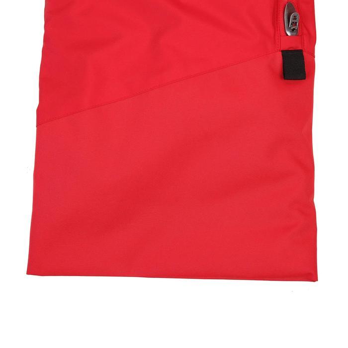兒童滑雪長褲PNF 500-紅色