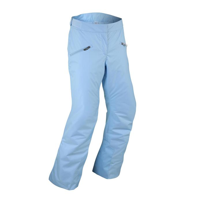 WOMEN'S DOWNHILL SKI TROUSERS 180 - BLUE