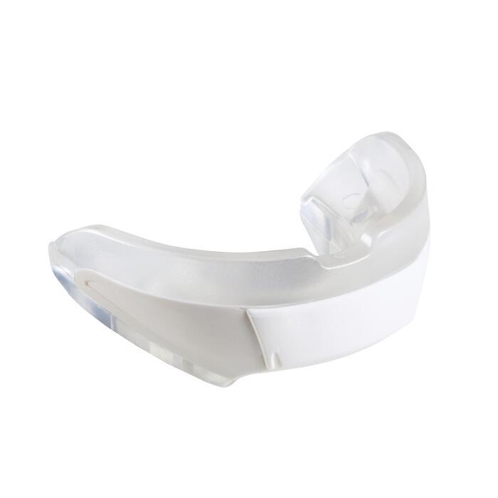 Protège-dents de hockey sur gazon intensité moyenne Medium FH500 blanc