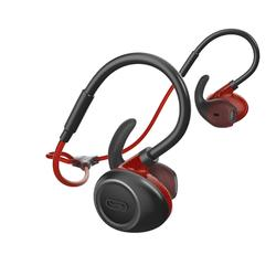 KALENJI 900 EARPHONES WIRELESS BLUETOOTH - RED