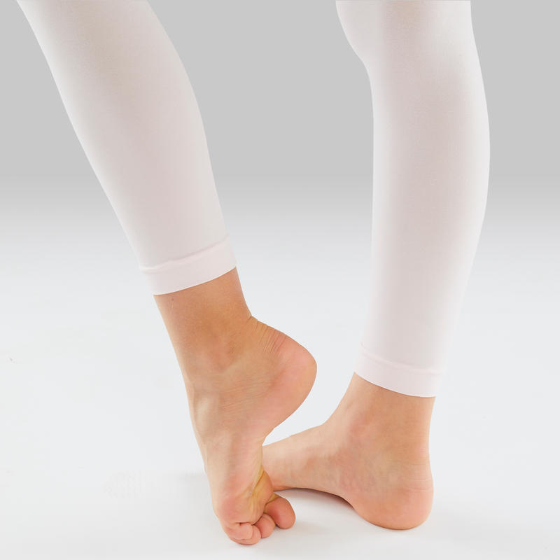 Panties sin pies niña rosadas